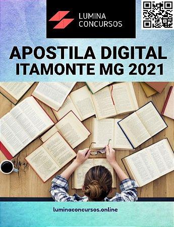 Apostila PREFEITURA DE ITAMONTE MG 2021 Auxiliar de Saúde Bucal