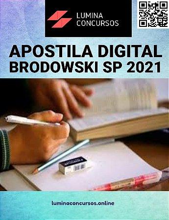 Apostila PREFEITURA DE BRODOWSKI SP 2021 Professor de Educação Especial