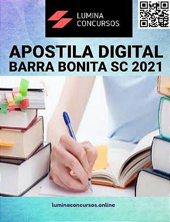 Apostila PREFEITURA DE BARRA BONITA SC 2021 Orientador Social