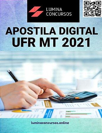 Apostila UFR MT 2021 Assistente em Administração