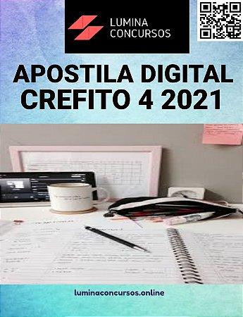 Apostila CREFITO 4 2021 Analista de Pessoal