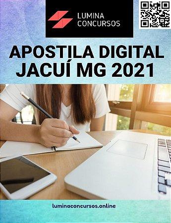 Apostila CÂMARA DE JACUÍ MG 2021 Agente de Serviços Administrativo
