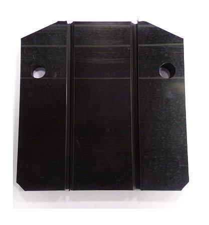Placa de Nylon grande - modelos B1/B2 (Instalação de Braçadeiras)