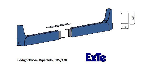 Welding Cutted (Bipartido) - modelo B1/170mm