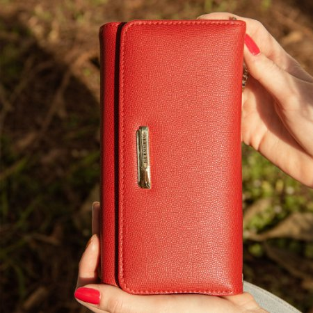 Carteira Feminina Flamingo Vermelha
