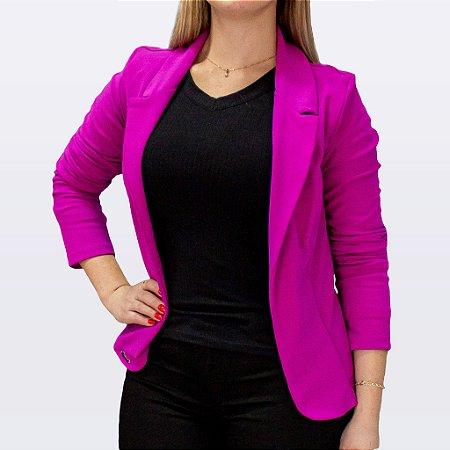 Blazer Feminino Cor Violeta Marca Chocomel