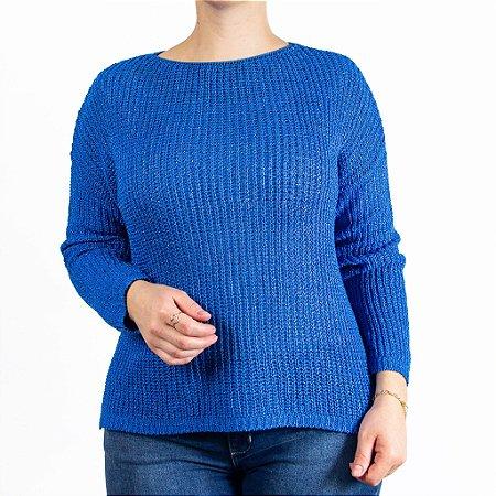 Blusão Feminino Azul Roya Anselmi