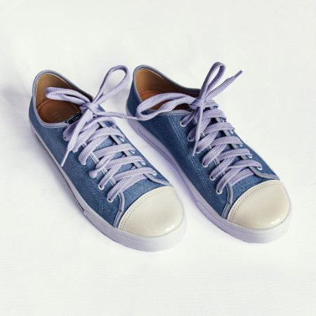 Tênis Moleca Feminino Jeans
