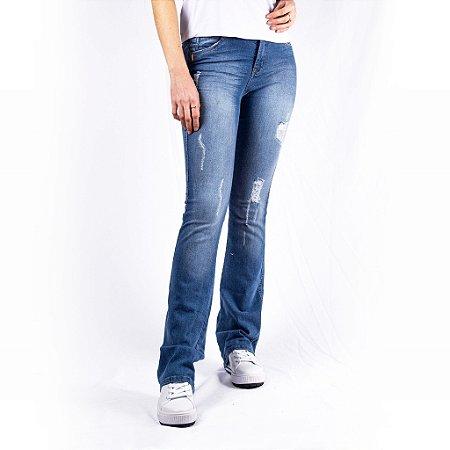 Calça Jeans Flare Max Denim