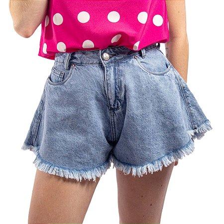 Short Jeans Godê Feminino Bivik