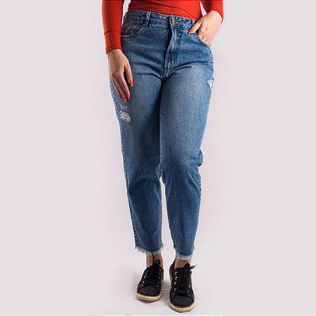 Calça Jeans Mom Feminina Hoje Collection