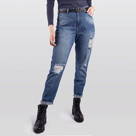 Calça Jeans Mom Feminina Hoje