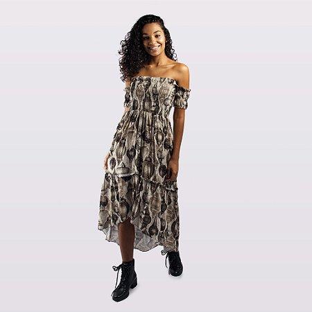 Vestido Feminino Ciganinha