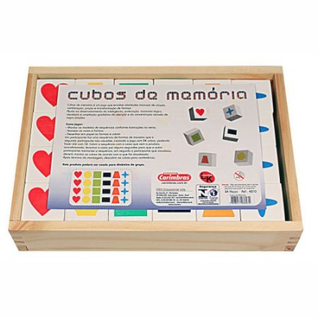 CUBOS DE MEMÓRIA