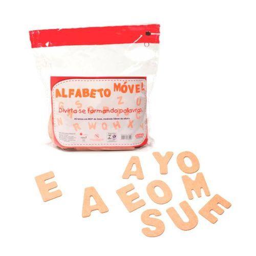 ALFABETO MÓVEL 40 LETRAS
