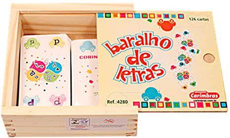 BARALHO DE LETRAS