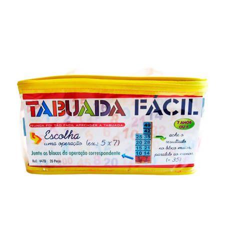 TABUADA FÁCIL