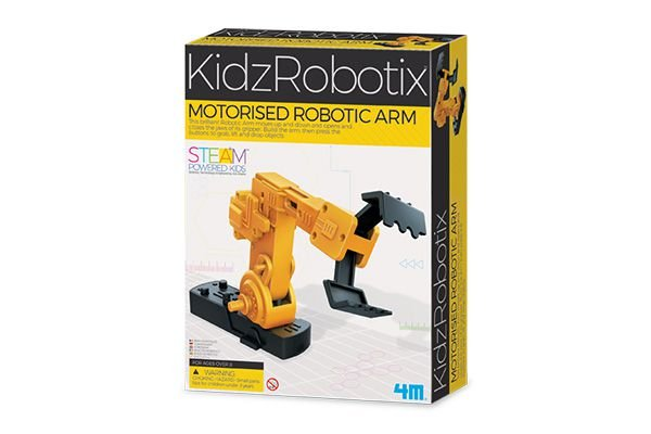 MOTORISED ROBOTIC ARM