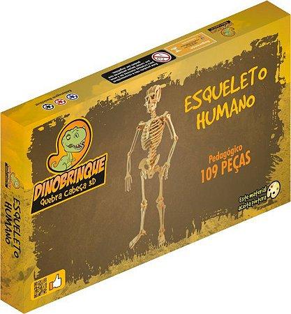 ESQUELETO HUMANO 109 PEÇAS