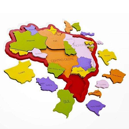 MAPA DO BRASIL REGIÕES, ESTADOS, CAPITAIS