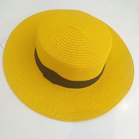 Chapéu Praia - Amarelo