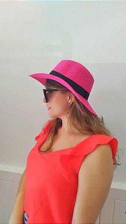 Chapéu Praia - Pink