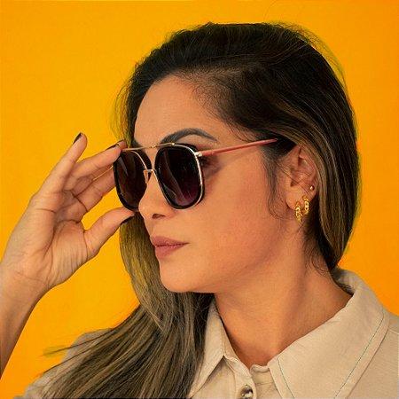 Óculos Solar Proteção UVA e UVB 400 Premium - REF: HP1166