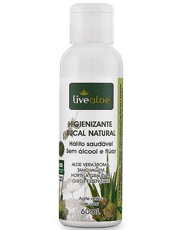 Enxaguante higienizante bucal natural - Livealoe