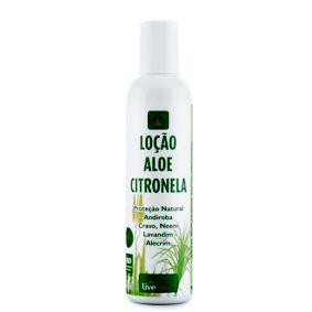 Repelente vegano loção Aloe Citronela - Livealoe