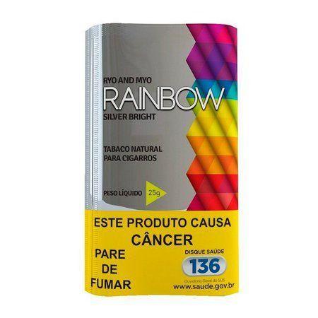 Fumo Para Cigarro Rainbow Silver