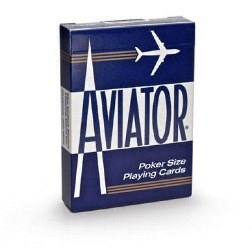 Baralho Aviator Standard Azul ou Vermelho