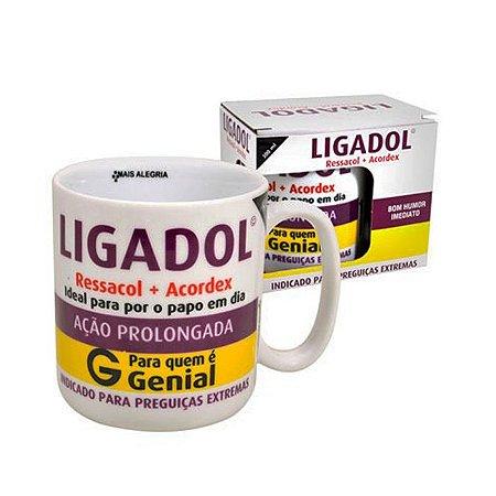 Caneca Porcelana Ligadol 300ml