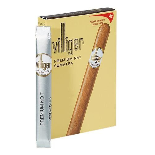 Charuto Villeger Premium Sumatra n.7 cx c/5
