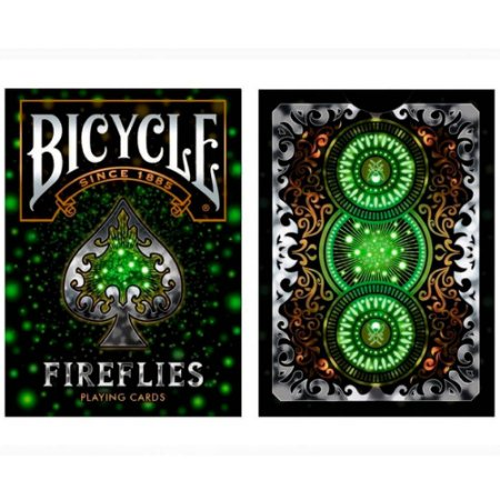 Baralho Bicycle FireFlyies - Premium Deck
