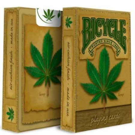 Baralho Bicycle Hemp - Premium Deck