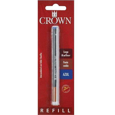 Carga p/ canetas Crown Roller Azul - Ref. CA 22007A