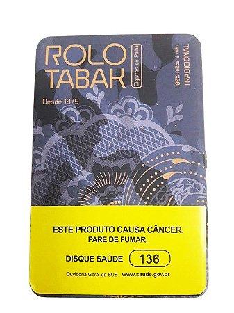 Cigarro de Palha Rolo Tabak c/ filtro na lata
