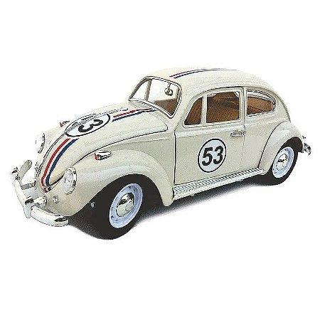 Miniatura Fusca Herbie 1/18