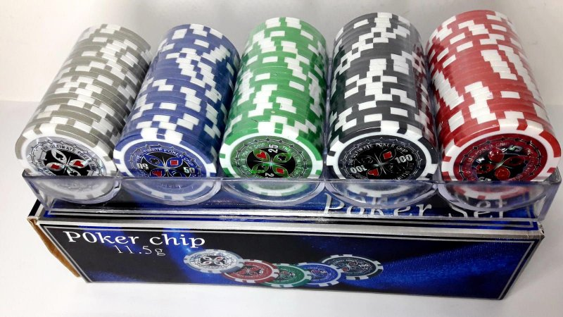 Ficha de Poker Holográfica Profissional