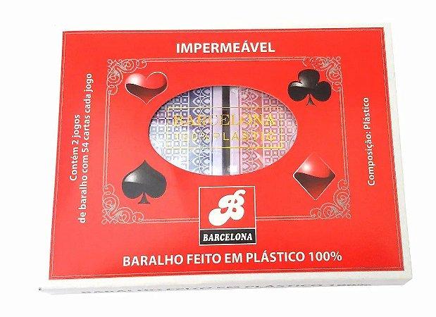 Baralho Plastificado Barcelona