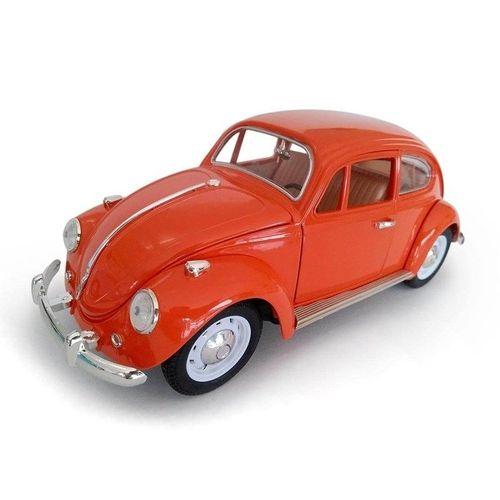 Volkswagen Fusca 1967 escala 1:18 Laranja