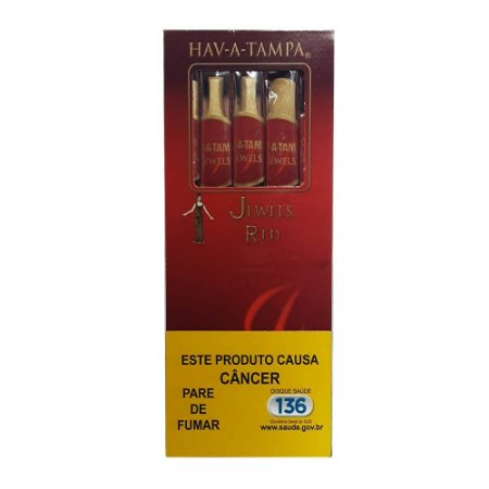 Cigarrilha Hav-a-Tampa Jewels Cereja cx c/5