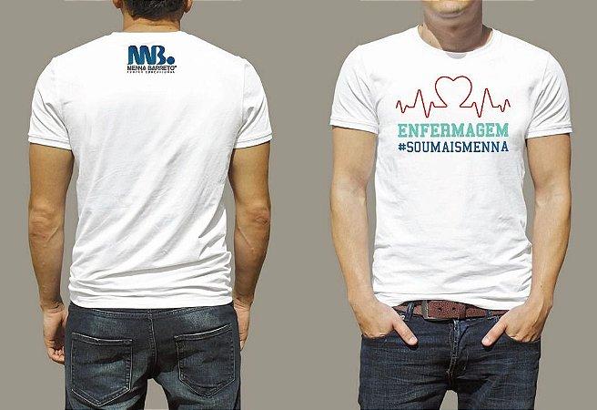 camiseta - Enfermagem #soumaismenna