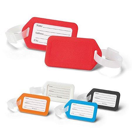 Identificador de bagagem personalizado em 1 côr (mínimo de 50 pçs)