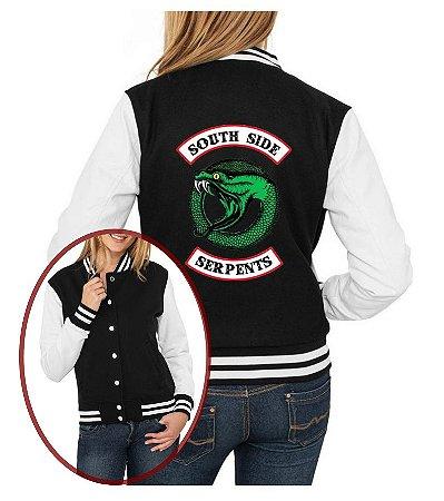 Jaqueta College Riverdale Feminina South Side Serpents segunda temporada