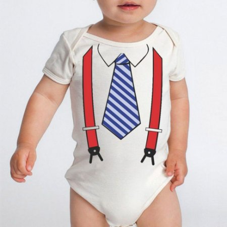 Body Bebê Divertido Suspensório - Roupinhas Macacão Infantil Bodies Manga Curta
