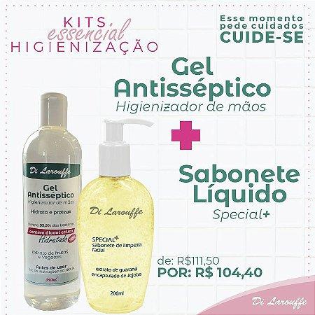 Sabonete Liquido Special+ + Gel Antisséptico360
