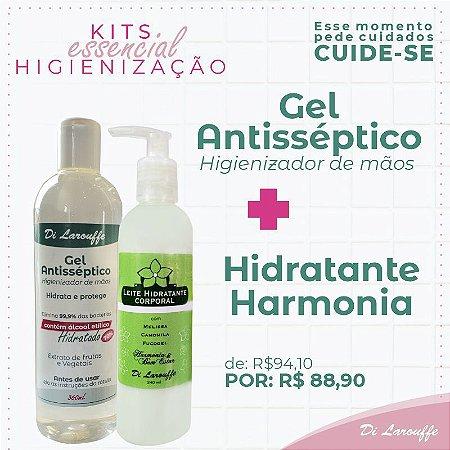 Hidratante Harmonia + Gel Antisséptico
