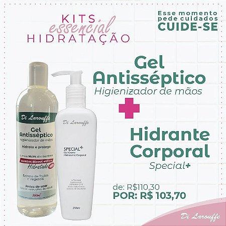 Hidratante Corporal Special+ + Gel Antisséptico