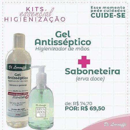 sabonete Erva Doce + Gel Antisséptico 360